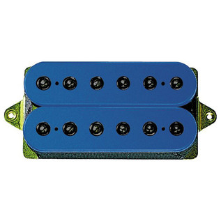 DiMarzio DP155 The Tone Zone F Spaced Humbucker, Blue w/Black Poles