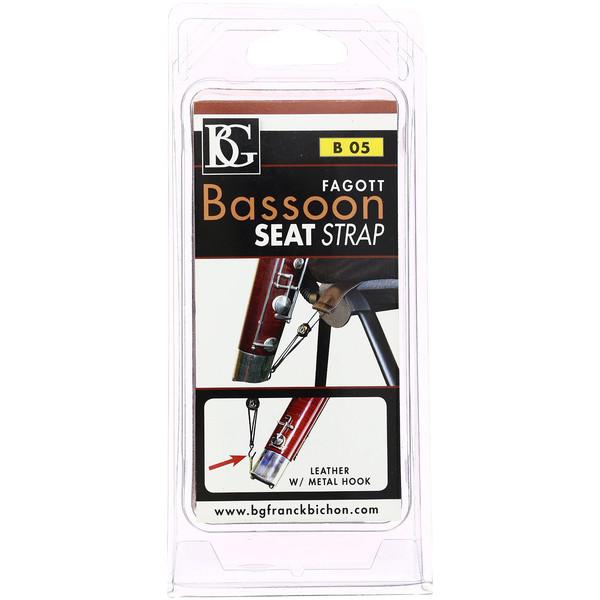 BG B05 Bassoon Leather Seat Strap