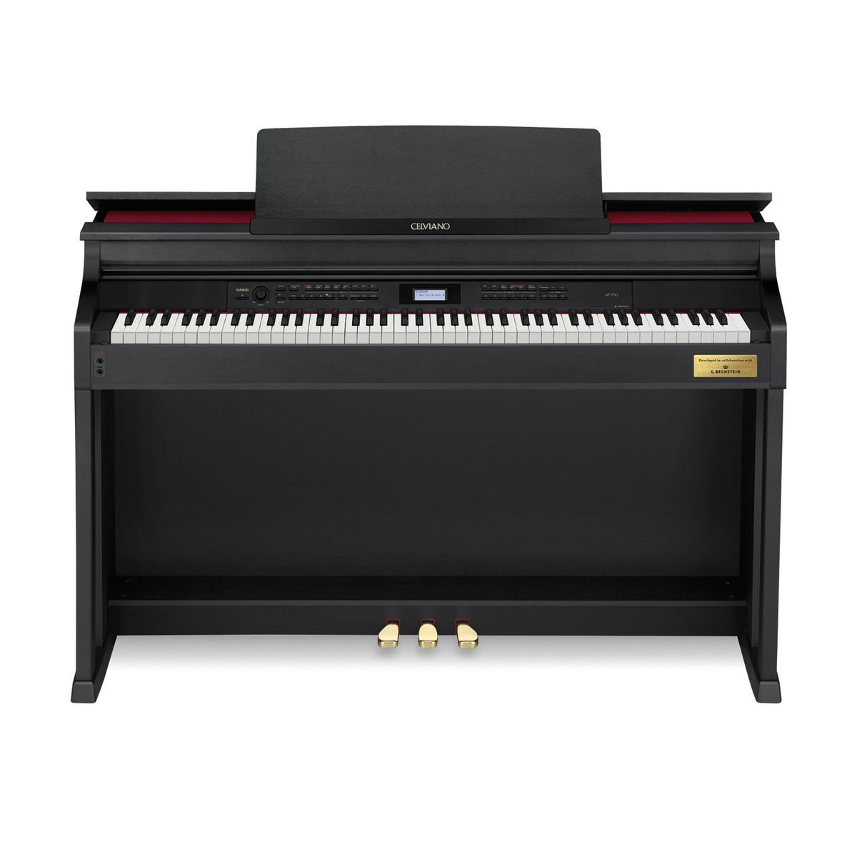 casio celviano ap 700 traditional digital piano satin black at. Black Bedroom Furniture Sets. Home Design Ideas