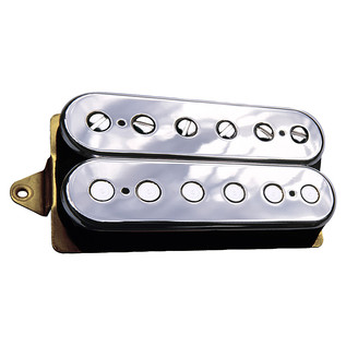 DiMarzio DP155 The Tone Zone F Spaced Humbucker Pickup, Chrome