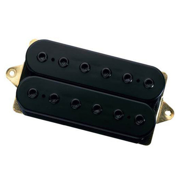 DiMarzio DP227 LiquiFire F Spaced Guitar Pickup, Black w/Black Poles