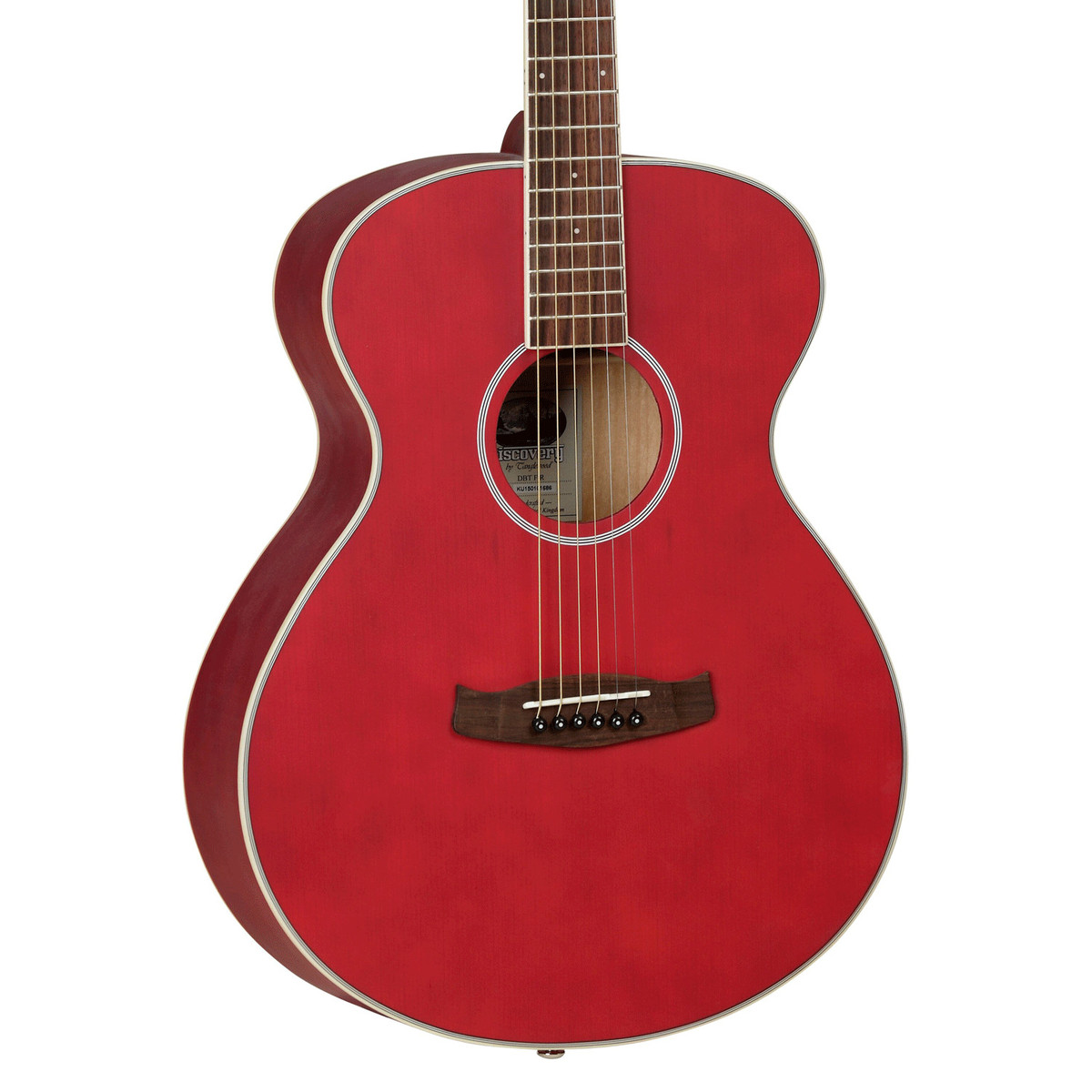 Tanglewood discovery dbtfrd guitare acoustique rouge mat for The tanglewood