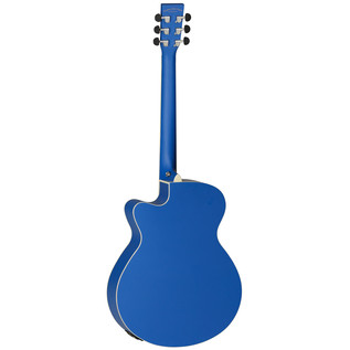 Tanglewood Discovery DBT SFCE DBL Electro Acoustic, Dark Cobalt Blue