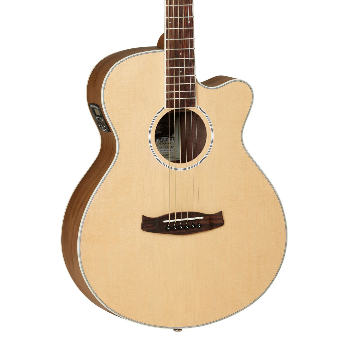 Tanglewood dbt sfce bw discovery series super folk for The tanglewood