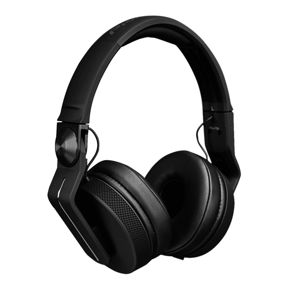 Pioneer HDJ-700 Professional DJ Headphones, Matt Black