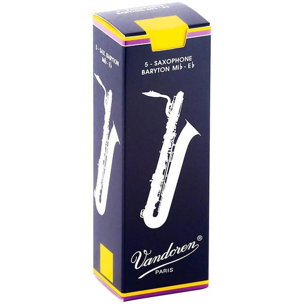 Vandoren Baritone Saxophone Reeds, Strength 2.0 Box of 5