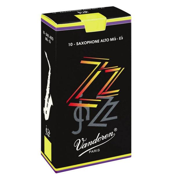 Vandoren ZZ Alto Saxophone Reeds Strength 2.5 (10 Pack)