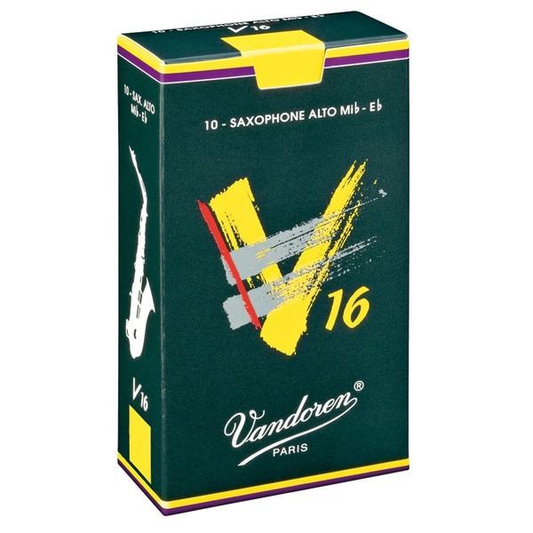 Vandoren V16 Alto Saxophone  Reeds Strength 2.0 (10 Pack)
