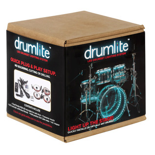 DrumLite Duel LED Lighting System for Acrylic Drumsets 22, 10, 12, 14