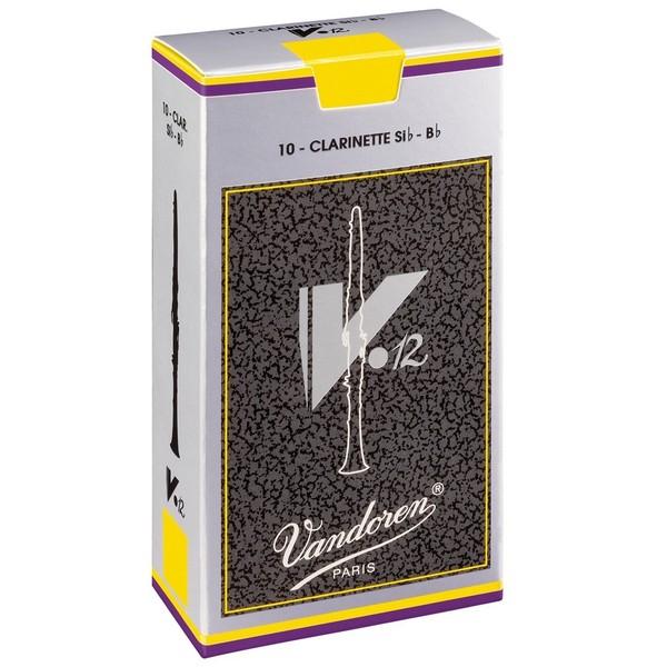 Vandoren V12 Bb Clarinet Reed, Strength 3.0 (10 Pack)