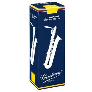 Vandoren Baritone Saxophone Reeds, Strength 3.0 Box of 5