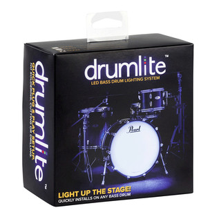 DrumLite Single LED Lighting System for Acoustic Bass drum 20in
