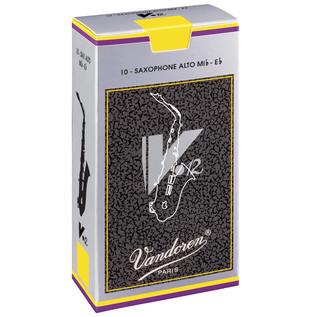 Vandoren V12 Alto Saxophone Reeds Strength 3.0 (10 Pack)