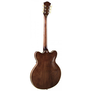 Hofner Limited Edition Verythin P90 Guitar, Transparent Brown