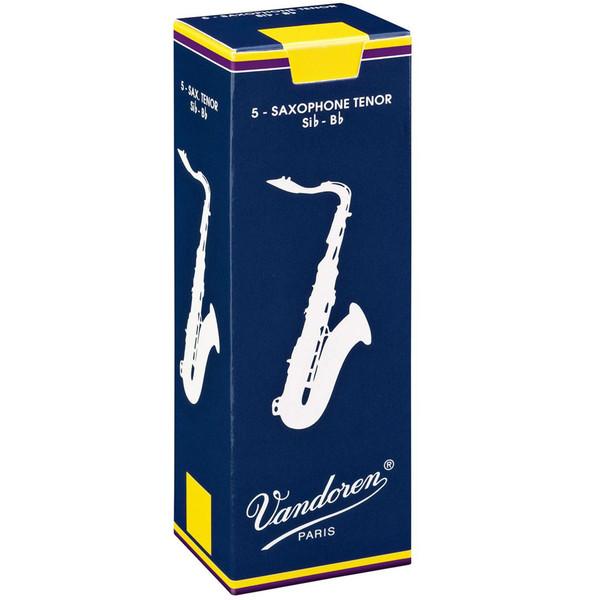 Vandoren Tenor Saxophone Reeds Strength 3.0 Box of 5