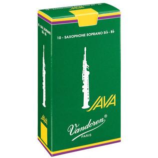 Vandoren Java Soprano Saxophone Reeds Strength 3.5 (10 Pack)