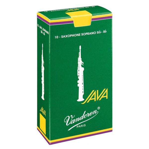 Vandoren Java Soprano Saxophone Reeds Strength 2.5 (10 Pack)