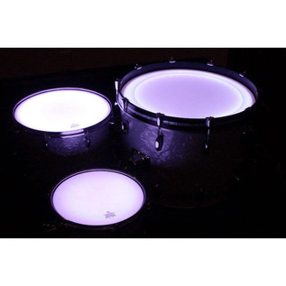 DrumLite Individual LED Light To Combine With Set Kit, 14 Tom