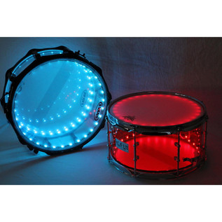 DrumLite Individual Double LED Lights For 14 x 14 Tom