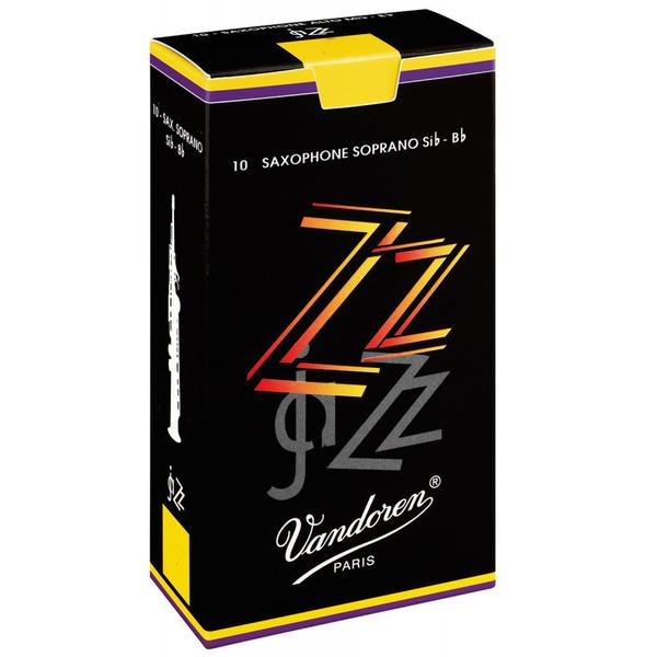Vandoren ZZ Soprano Saxophone Reeds Strength 3.0 (10 Pack)
