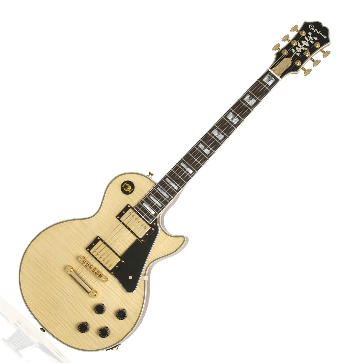 disc epiphone les paul custom pro 100th birthday electric guitar at gear4music. Black Bedroom Furniture Sets. Home Design Ideas