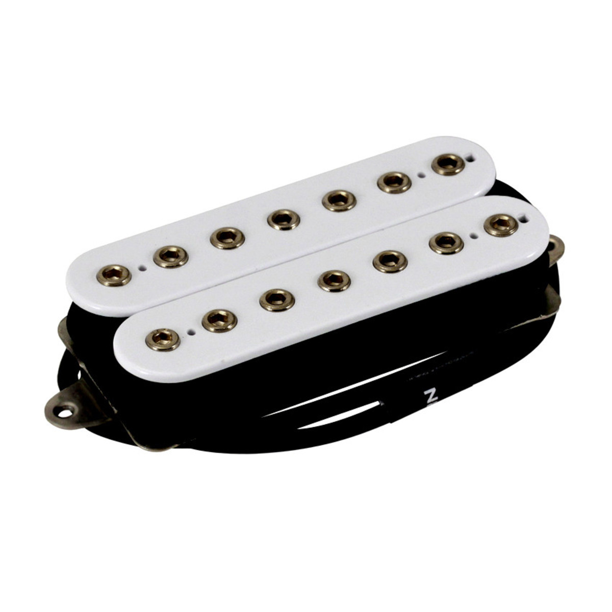 Schema Collegamento Humbucker Di Marzio : Dimarzio dp755 the tone zone 7 string humbucker guitar pickup white