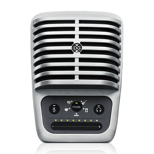 Shure MV51 MOTIV Condenser Mic for Mac, PC, iPhone, iPod, iPad