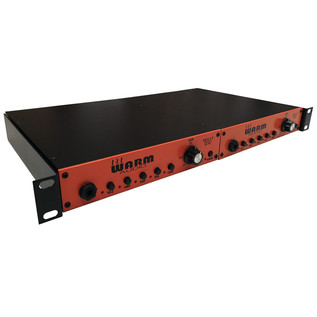 Warm Audio WA12-Stereo Microphones Preamp with Rack Tray, Pair