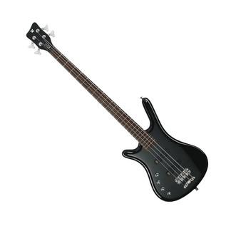Warwick Rockbass Corvette Left Handed 4String Bass, Black High Polish