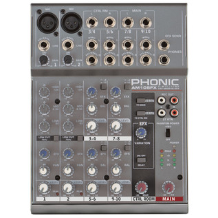 Phonic AM105FX Analog Mixer