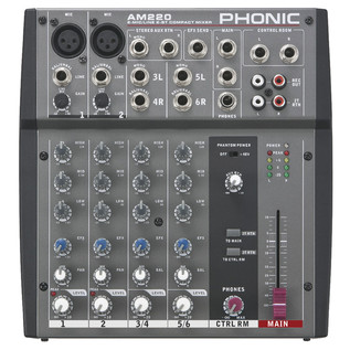 Phonic AM220 Analog Mixer