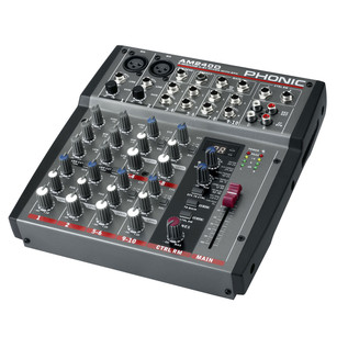 Phonic AM240D Analog Mixer With DFX - Side View