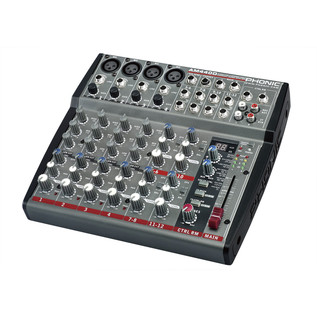 Phonic AM440D Analog Mixer With DFX - Side View