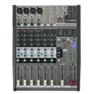 Phonic AM1204FX With DFX And USB Interface