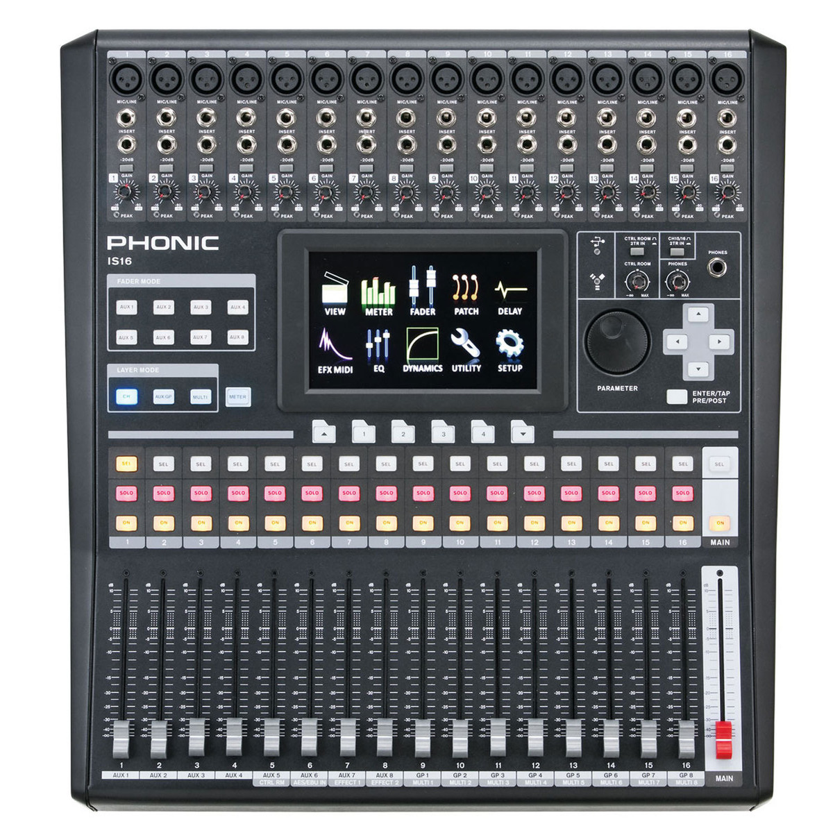 phonic isi6 digital mixer at gear4music. Black Bedroom Furniture Sets. Home Design Ideas