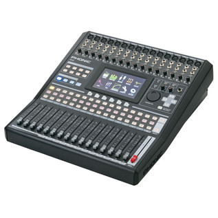 Phonic ISI6 Digital Mixer With Colour Touch Screen and VGA output - Side View