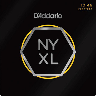D'Addario NYXL Electric Guitar Strings Reg. Light .010 - .046, 3 Pack