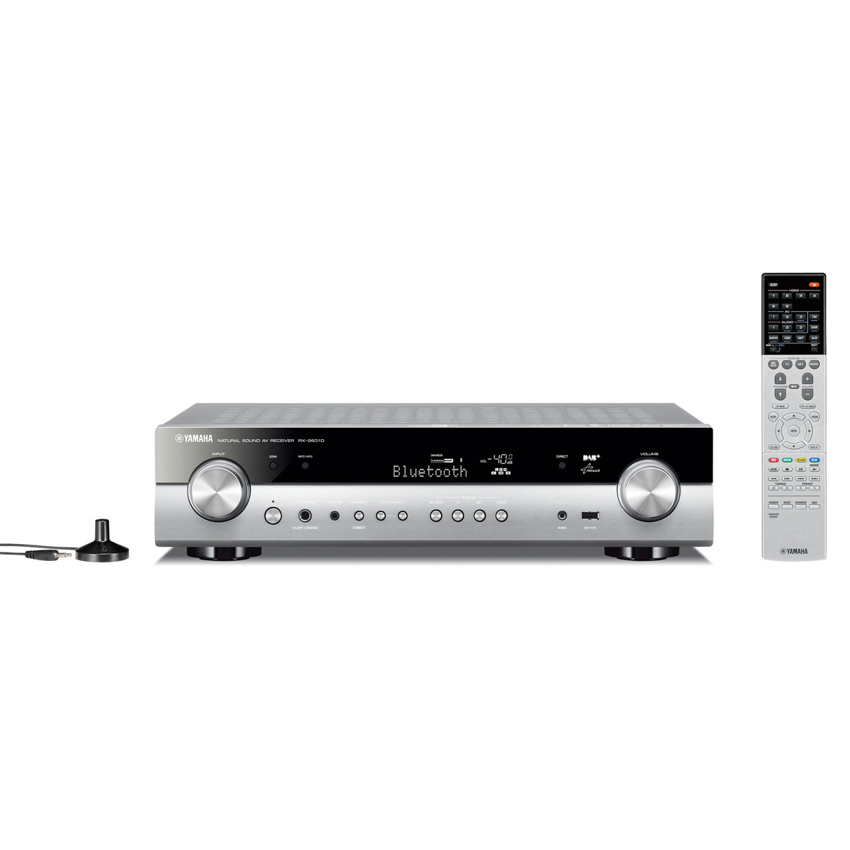 disc yamaha rxs601d av receiver with musiccast titanium at. Black Bedroom Furniture Sets. Home Design Ideas