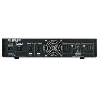 Phonic iAMP 1620 Digital Amplifier - Rear View