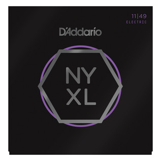 D'Addario NYXL Electric Guitar Strings .011 - .049, 3 Pack