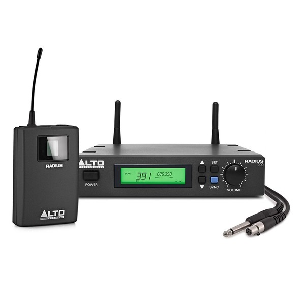 Alto Radius 200M True Diversity Instrument Wireless System