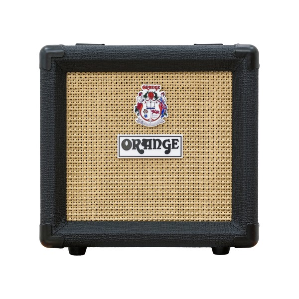 "Orange Micro Dark 1 x 8"" Cabinet, Black"