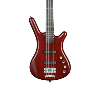 Warwick Rockbass Corvette Basic 4-String Bass Guitar, Red