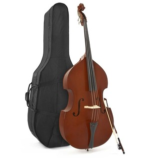 Student 4/4 Full Size Double Bass by Gear4music