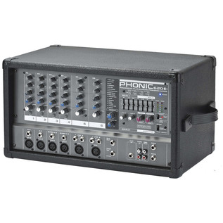 Phonic Powerpod620 Plus Powered Mixer - Side View