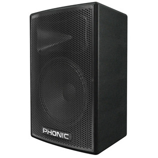 Phonic aSK 12 Passive Stage Speaker/Floor Monitor - Side View