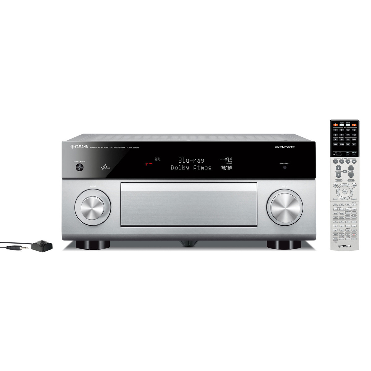 Disc yamaha rxa3050 aventage av receiver with musiccast for Yamaha multi zone receiver