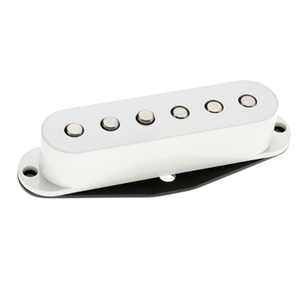 DiMarzio DP423 Injector Bridge Hum Cancelling Strat Pickup, White