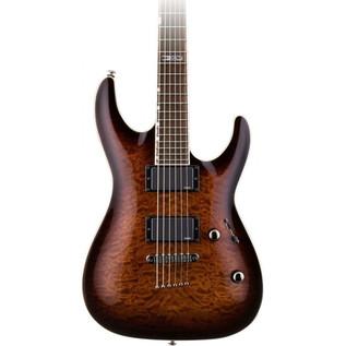 ESP LTD MH-350NT Guitar, Dark Brown Sunburst + Free Gifts