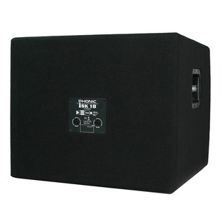 Phonic iSK18 Subwoofer - Rear View